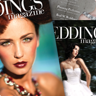 Weddings Magazine Print Design